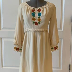 Vintage Emma Domb '60s Hippie Dress